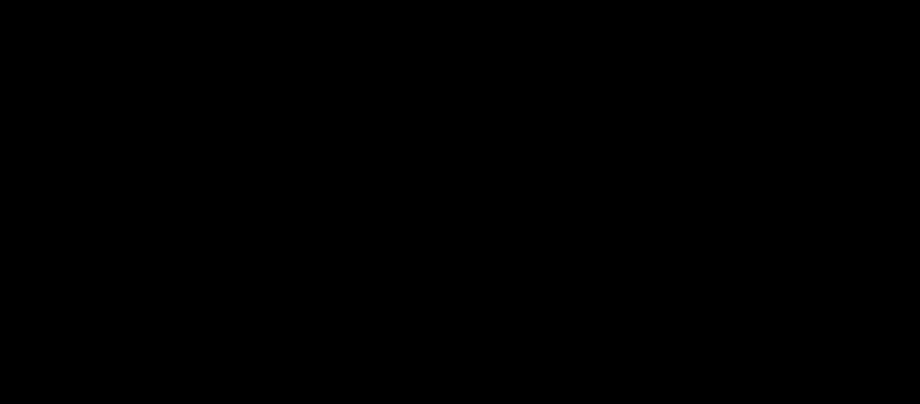 La molécule d'amidon est une chaine plus ou moins longue de molécules de glucose.