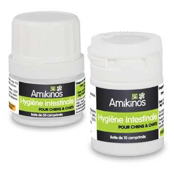 Hygiène intestinale permet de remplacer les vermifuges chimiques et donc de préserver la flore intestinale.