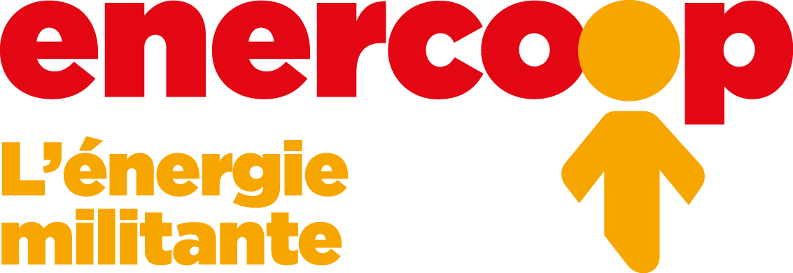 Logo d'enecoop, fournisseur d'éléctricité 100% renouvelable utilisé par Amikinos